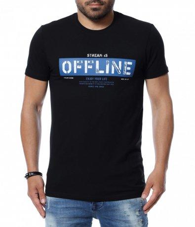 Тениска с надпис 12638