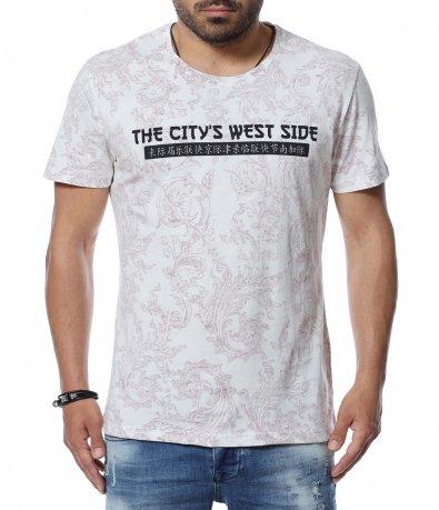 Тениска с интересен шрифт 12641