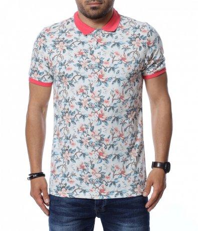 Тениска с яка 12643