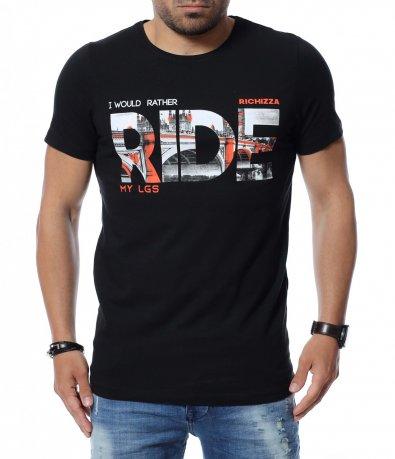 Тениска с надпис 12653