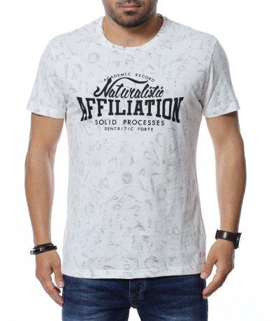 Тениска със шрифт 12655