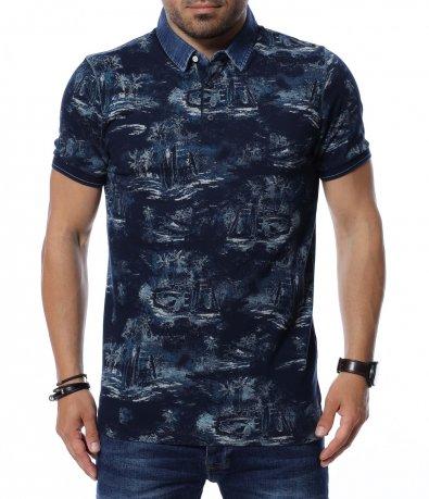 Тениска с яка 12664