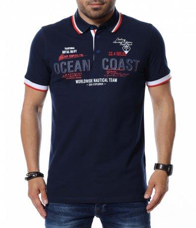 Тениска с яка 12665