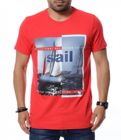 Тениска със щампа 12674