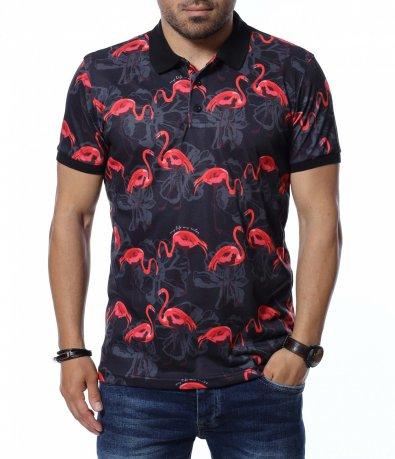 Тениска с яка 12673