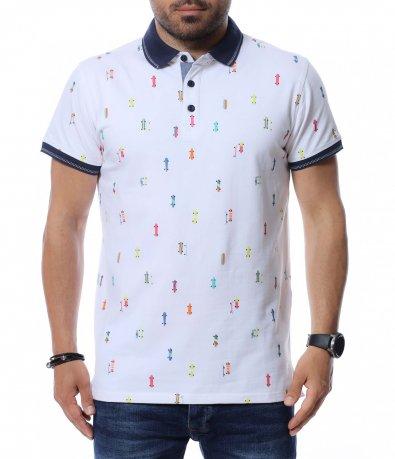 Тениска с яка 12690
