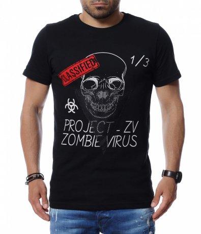 Тениска с надписи 12694