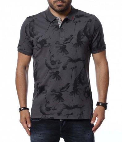 Тениска с яка 12709