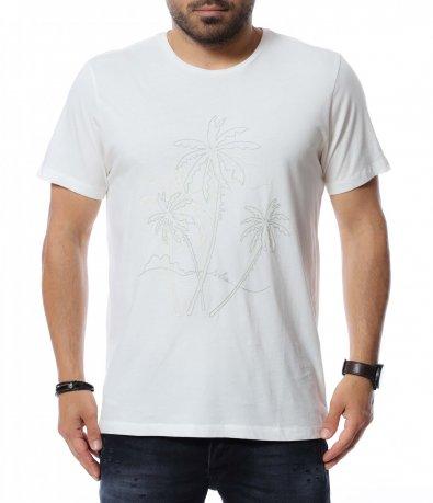 Тениска с декорация 12713