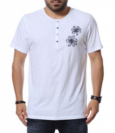 Тениска с бродерия 12714