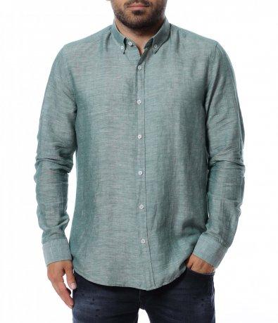 Риза с дълъг ръкав 12718