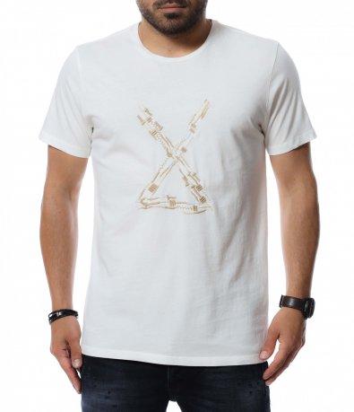 Тениска с бродерия 12717