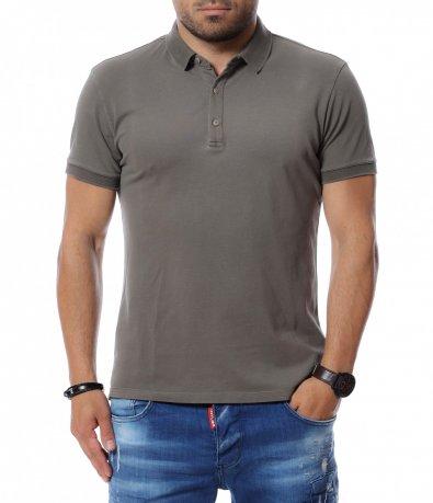 Тениска с яка 12704