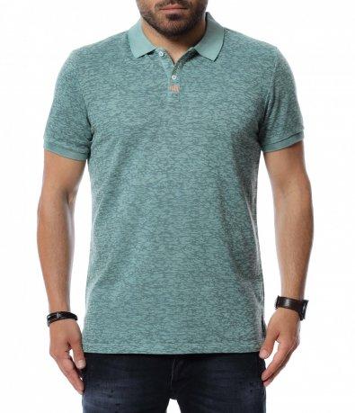 Тениска с яка 12708