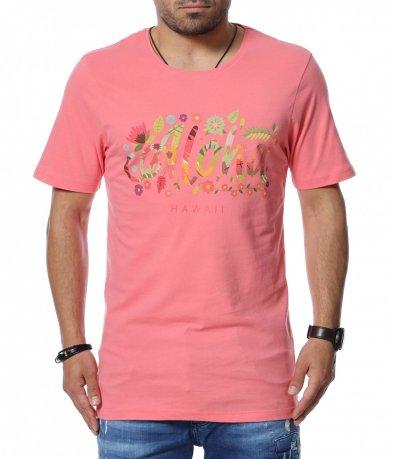Цветна памучна тениска 12739