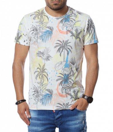 Тениска с принт 12745