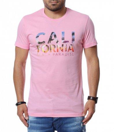 Тениска със щампиран надпис 12747
