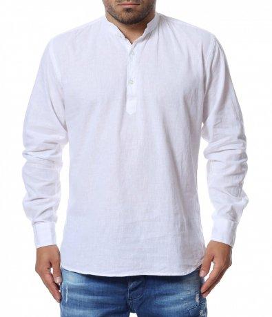 Риза с половин закопчаване 12750