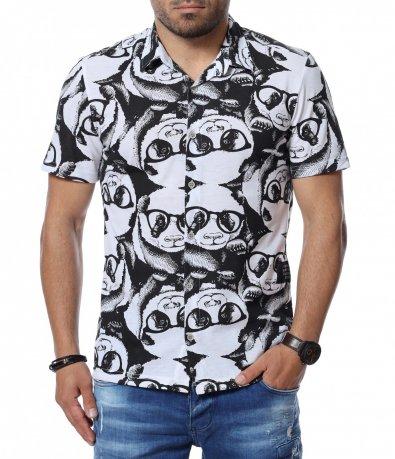 Риза с къс ръкав 12751