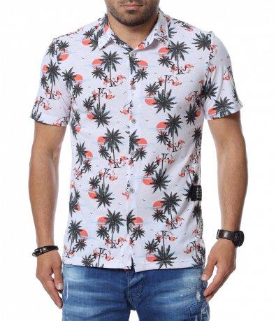 Риза с къс ръкав 12752