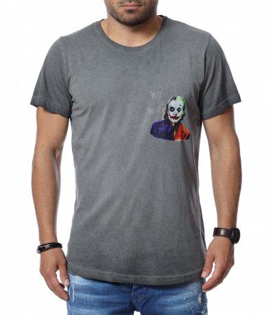 Тениска с апликация 12754