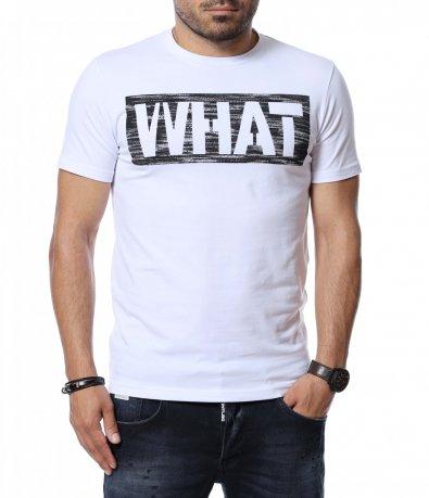 Тениска с надпис 12756