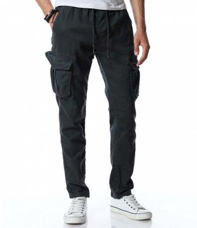Карго панталон с връзки 12891
