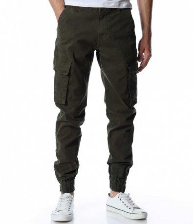 Цветен карго панталон 12913
