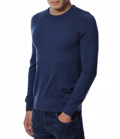 Едноцветна блуза 12917