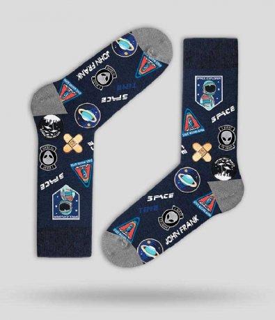 Чорапи John Frank с принт 12980