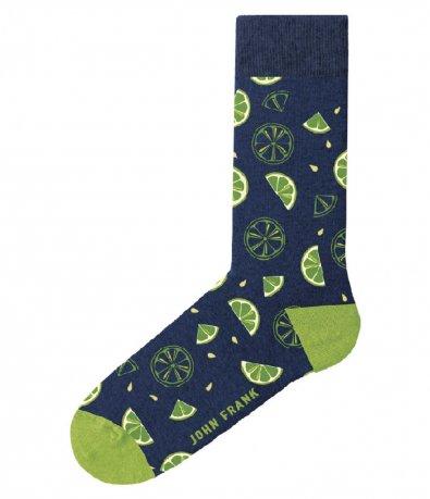 Чорапи John Frank с принт 12981
