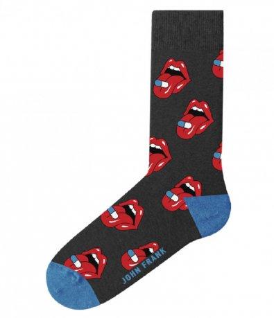 Чорапи John Frank с принт 12983