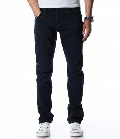 Тъмносин дънков панталон 13034