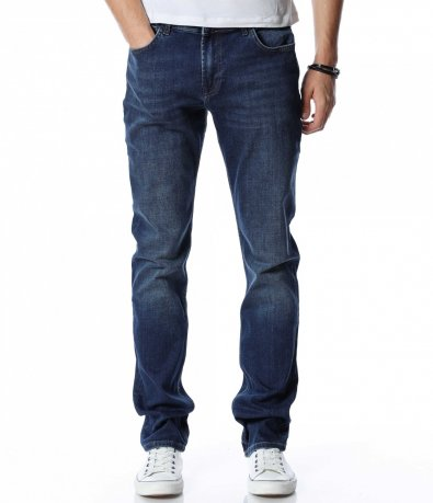 Син дънков панталон 13058