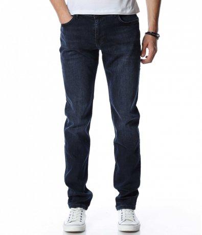 Син дънков панталон 13059