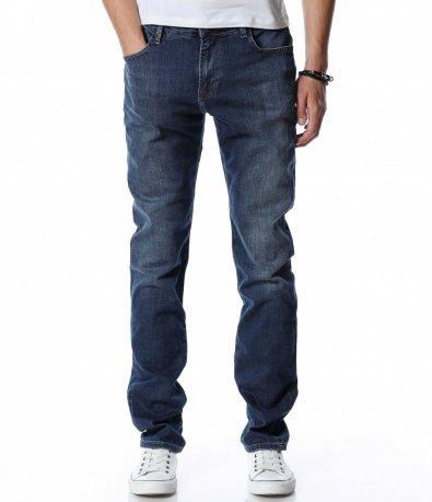 Син дънков панталон 13069