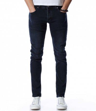 Тъмносин дънков панталон 13082