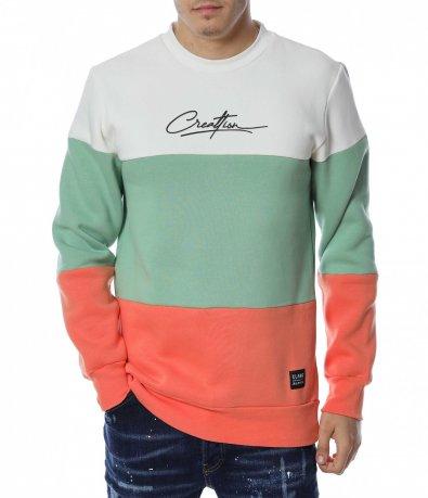 Блуза в три цвята 13134
