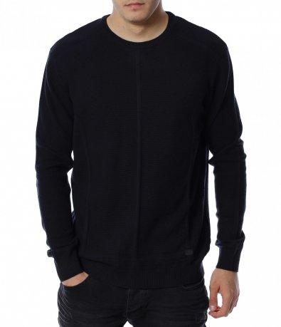 Пуловер от тънко плетиво 13139
