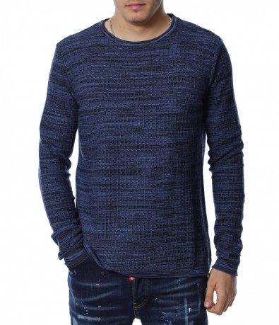 Пуловер от тънко плетиво 13140