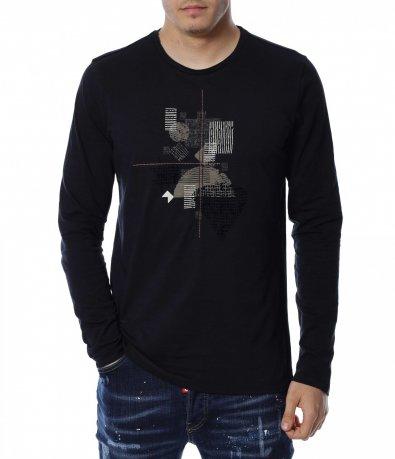 Блуза с интересен дизайн 13145