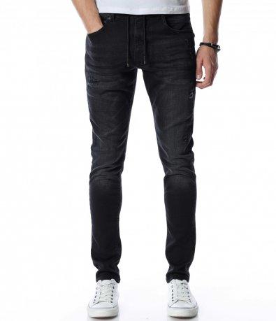 Черни дънки тип джогър 13154