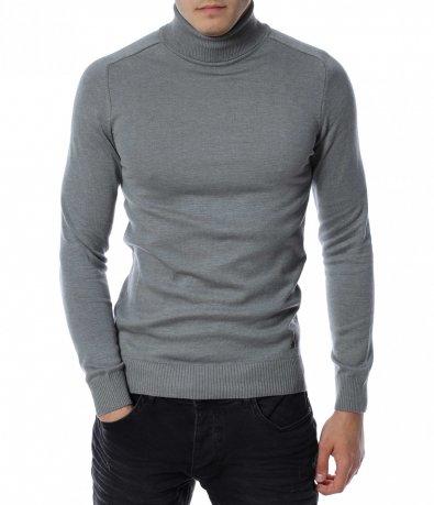 Пуловер от тънко плетиво 13157