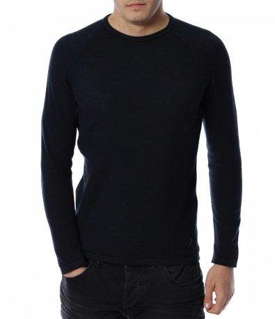 Плетен тънък пуловер 13158