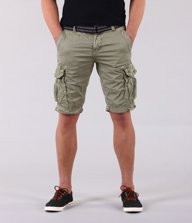 Къси мъжки панталони с странични джобове 12128