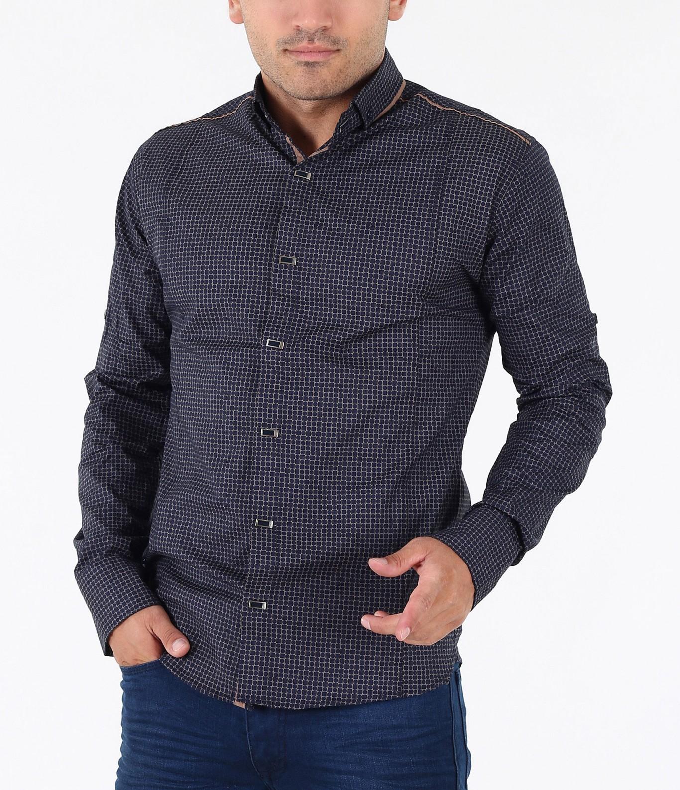 34c13a3240c Мъжка модерна риза-3431 - Red Point Варна