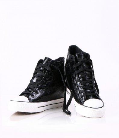 Дамски черни обувки 3784