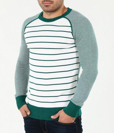 Мъжка раирана блуза-4064