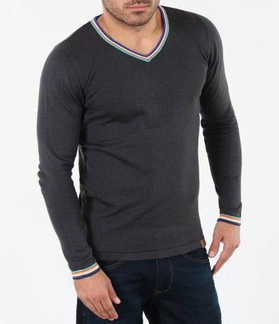 Атрактивен мъжки пуловер 4062