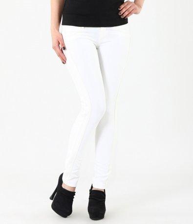Дамски бял панталон 4328